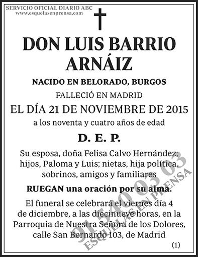 Luis Barrio Arnáiz